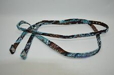Vera Bradley RARE Jave Blue Retired Pattern Replacement Strap Only For Wallet