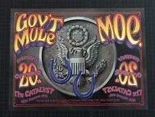 moe. Gov't Mule 2005 Santa Cruz Poster Randy Tuten - 1st ed. FREE SHIP PHISH