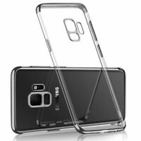 For Samsung J2 Pro | A5 2018 Metallic Soft & Strong Clear Gel Phone Case Cover