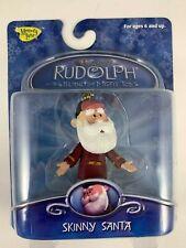 Memory Lane Rudolph The Island Of Misfit Toys Clip-On Xmas Ornament Skinny Santa