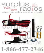 Kenwood KCT-23M OEM DC Power Cable 50W TK7180 TK8180 TK980 TK880 TK780 TK7360