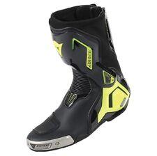 Motorrad Stiefel Dainese Torque D1 Out Boots schwarz/fluo-gelb Gr. 45