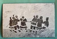 Intuit Eskimo Carving Large Size Hanging Soapstone Signed Siku Canada Alaska