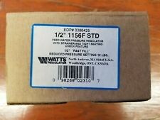 "Watts 0386425 1/2"" Threaded Iron Pressure Regulator - 1156F - New in Box."