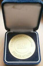 2012 2013 EHF European Handball Federation MEDAL PLAQUE SPORT Men challenge cup
