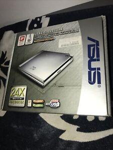 ASUS External Slim Drive DVD-RW Dvd Rom Drive 24X Sealed Box USB2.0 IEEE1394