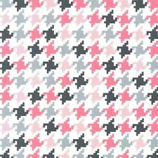 Bloom Houndstooth for Michael Miller, 1/2 yard 100% cotton fabric