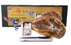Prosciutto Serrano Duroc 8-8,5kg Cura di 24 Mesi+ Porta Prosciutto + Coltello