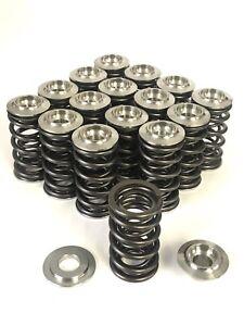 Lotus Sunbeam, Esprit, Excel - Race valve spring kit - titanium caps, HD springs