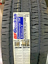 4 New LT 275 70 18 LRE 10 Ply BFGoodrich Commercial T/A All Season-2 Tires