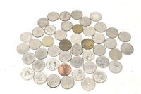 44 pc Lot Pachinko Slot World Wide Games of Chance Casino Coins All Different