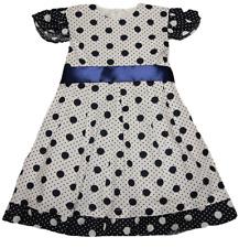 Kleid mit leichtem Unterrock Blumenmädchenkleid Sommerkleid Kleidchen Gr.98