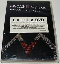 MAROON 5- Live- Friday 13th-- (DVD & CD, 2005)