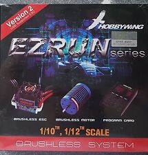HOBBYWING 18 AMP 12T 7800KV EZRUN COMBO GENUINE SEALED PRODUCT