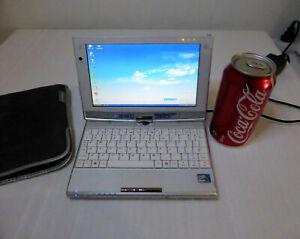 "KOHJINSHA SC3 JAPANESE miniature 7"" screen LAPTOP COMPUTER Windows XP WORKING"