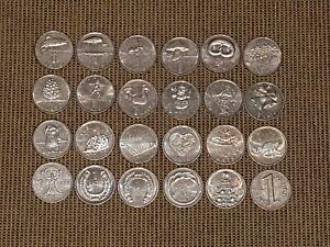 Latvia 1 lat (LVL) special design 24 coins set (full set) 1992-2013
