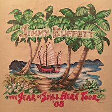 New listing tropical Jimmy Buffett t-shirt - 2008 The Year Of Still Here Tour - (L)