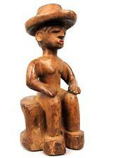 Art Africain - Ancien Colon Yorouba Yoruba - Chapeau Colonial - 33,5 Cms +++++++