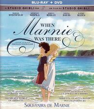 When Marnie Was There (Blu-ray+DVD)(Bilingual) New Blu
