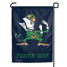 "Notre Dame Fighting Irish Official NCAA 11"" x 15"" Garden Flag ND Wincraft 161406"
