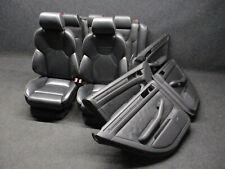 RS6 RECARO Lederausstattung Audi A6 S6 RS6 4B Sportsitze Ausstattung schwarz