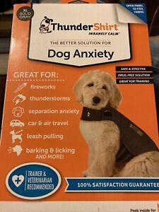 ThunderShirt Classic Dog Anxiety Jacket Vet, Solid Gray, X-Large