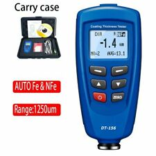 Car Paint Coating Thickness Gauge Meter Tester 1250um Usb Cable Probe Software