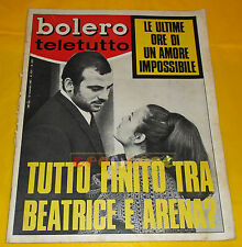 BOLERO FILM 1967 n. 1071 Maurizio Arena, Maria Beatrice Di Savoia Gianni Morandi