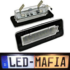 Smart W450/W451 Fortwo Cabriolet City - LED License Plate Light Module - 6000K