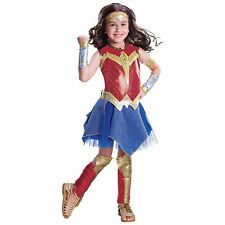 Wonder Woman Movie Child's Deluxe Costume Size M