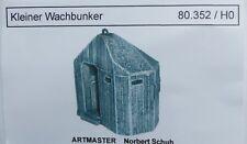 Artmaster 80.352 Kleiner Wachbunker Bunker H0 1:87 Bausatz unbemalt Keramik