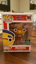 Funko pop Television #765 Simpsons Milhouse Shared Exclusive