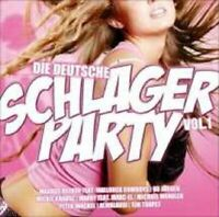 DIE DEUTSCHE SCHLAGERPARTY VOL.1 SAMPLER 2 CD NEW