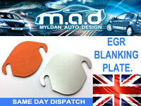 **STAINLESS** EGR BLANKING PLATE JAGUAR X TYPE 2.0 2.2 TDCi *INCLUDING GASKET* *
