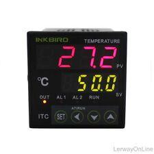 PID Digital Temperature Controller Thermostat 24V AC/DC + K Sensor + 25DA SSR CE