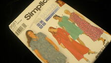 Simplicity full figure dress 9581 suitable for  HOAX system Size 18W-24W pattern