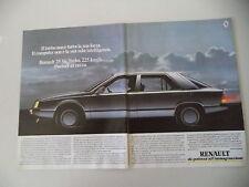 advertising Pubblicità 1985 RENAULT 25 V6 TURBO