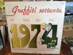 Aa.vv. LP Vinyl Graffiti Settanta 1974 Rca CL 71564 VG