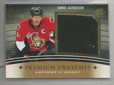 2011-12 Ultimate Hockey Daniel Alfredsson Premium Swatch Jersey Card # 16/35 CSC