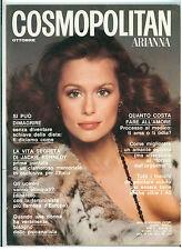 COSMOPOLITAN ARIANNA N. 19 OTTOBRE 1974 COVER LAUREN HUTTON FRANCESCO SCAVULLO