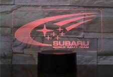 Subaru Rally LED Lamp / Sign! Forester WRX STI Outback Ascent BRZ Impreza Legacy