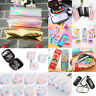 Women Handbag Pencil Cosmetic Case Printing Clutch Bag Coin Phone Purse Wallets