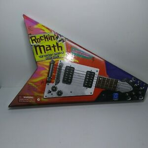 "Rockin Math "" The Totally Amped-Up Board Game by Educational Insights. Age8+ 2-4"