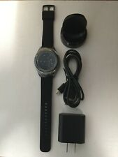 Samsung Galaxy Gear S2 classic SM-R735 44mm Black Band Bluetooth Only Excellent