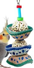 1932 2Cake Bonka Bird Toy foraging parrot cage toys cages cockatiel african grey