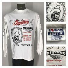 vtg 90s PIGFACE FOOK TOUR SHIRT XL Genesis P-Orridge Psychic TV Gristle Ministry