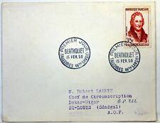 Yt 1149 BERTHOLLET 1958  FRANCE PREMIER JOUR FDC