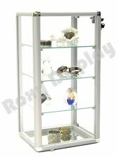 Elegant Glass Countertop Display Case Fixture Showcase Decor