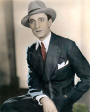 "BASIL RATHBONE HOLLYWOOD ACTOR MOVIE STAR 8x10"" HAND COLOR TINTED PHOTOGRAPH"
