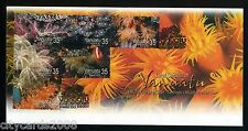 2005  NEW ZEALAND VANUATU      Coral Gardens of Vanuatu  with FISH  set of 2 FDC